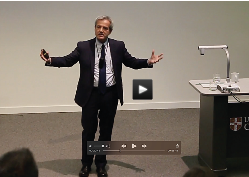 Professor Paolo Quattrone - 6 September 2017 - Who said accounting was boring? Rhetoric and the making of socie-ties's image